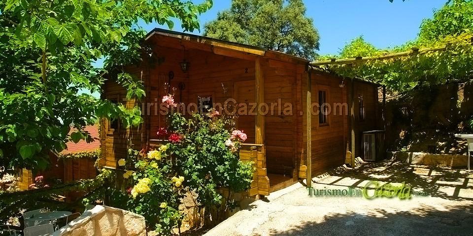 Caba as de madera el cerrillo casa rural y alojamientos for Oferta cabanas de madera