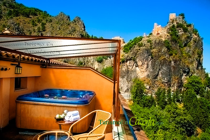 Hotel spa sierra de cazorla h hotel en la iruela - Jacuzzi en terraza ...