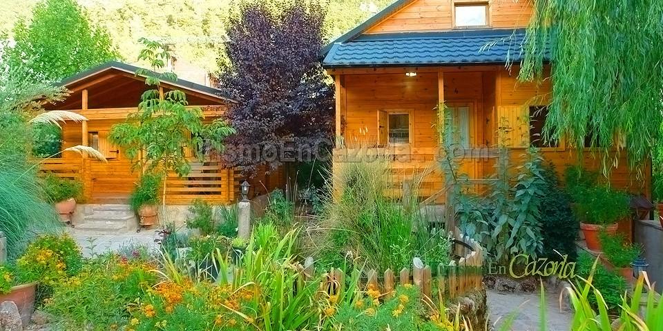 Caba as de madera los pinos casa rural y alojamientos en - Cabanas de madera los pinos ...
