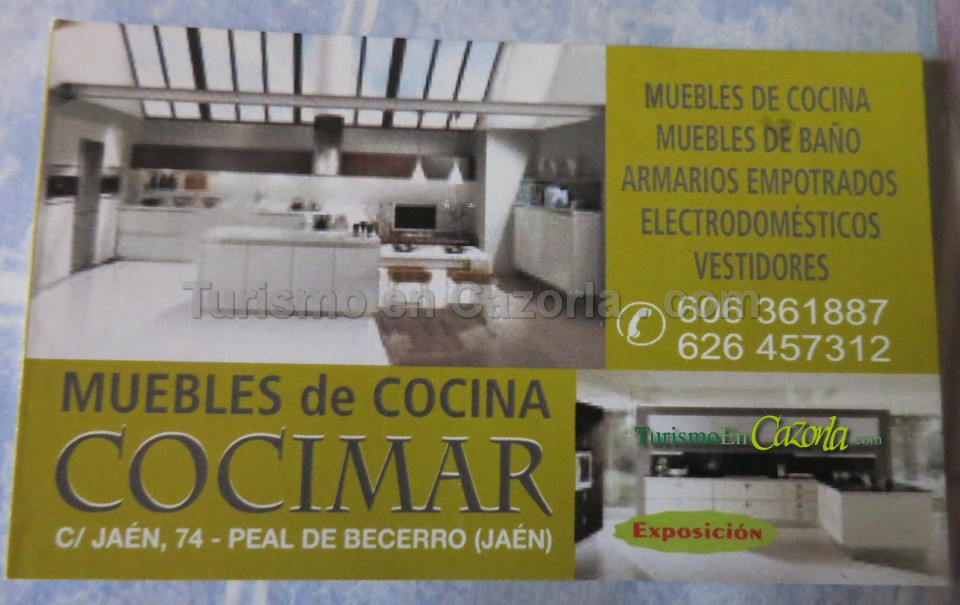 Muebles de Cocina Cocimar – Directorio de TurismoEnCazorla.com