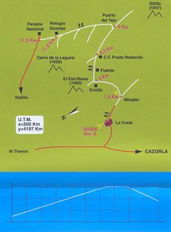 Ruta de La Iruela - Prado Redondo - Parador Nacional - La ...